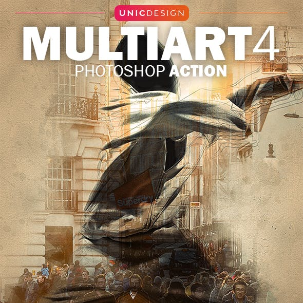 MultiArt 4 Photoshop Action