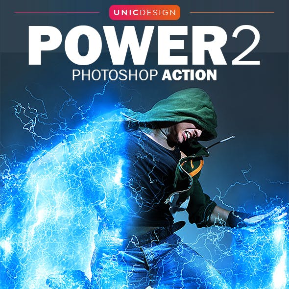 Power 2 Photoshop Action