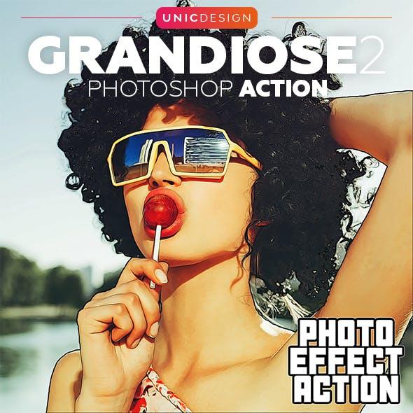 Grandiose 2 Photoshop Action
