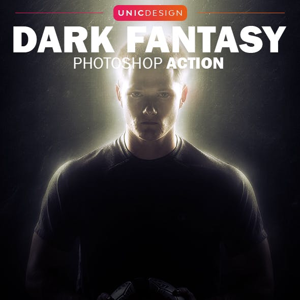 Dark Fantasy Photoshop Action