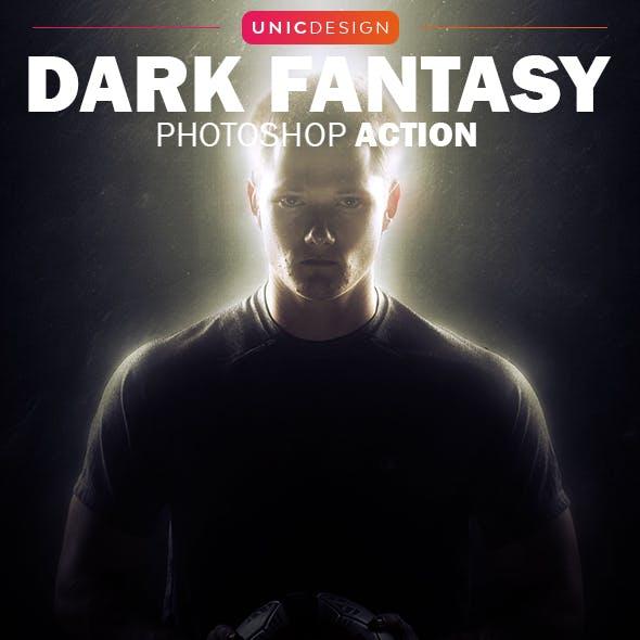 Dark Fantasy Photoshop Action