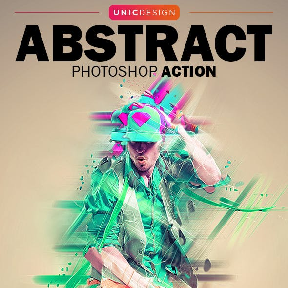 Abstract Photoshop Action