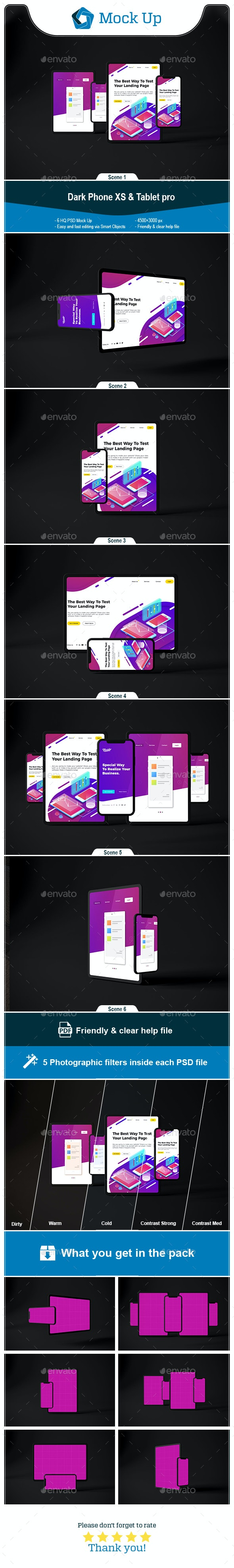 Dark Phone XS & Tablet Pro - Mobile Displays
