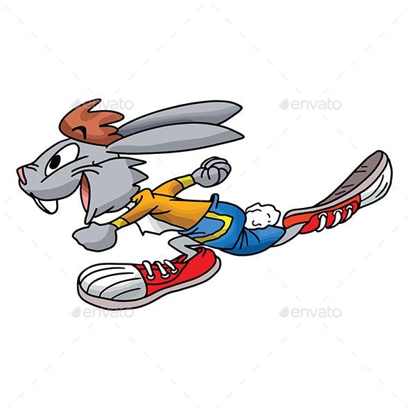 Cartoon Rabbit - Animals Characters