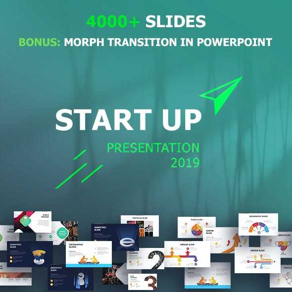 Start Up Keynote Template
