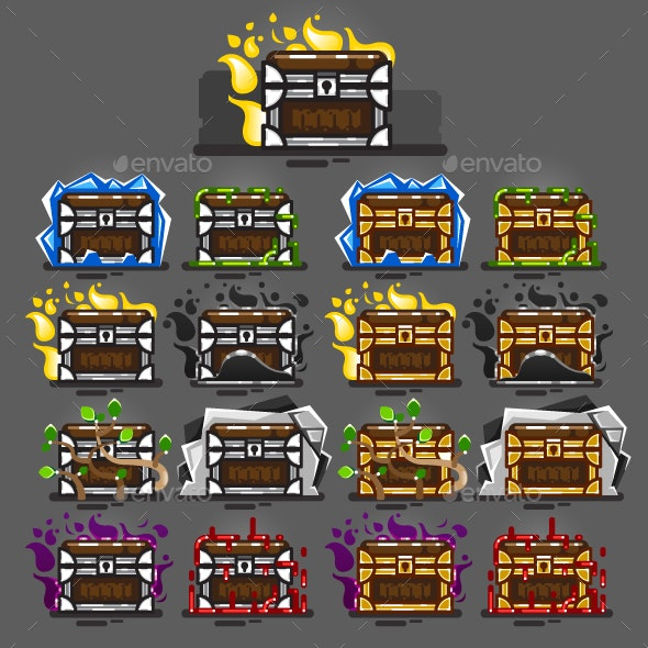 Chests for Creating Video Games - Miscellaneous Game Assets