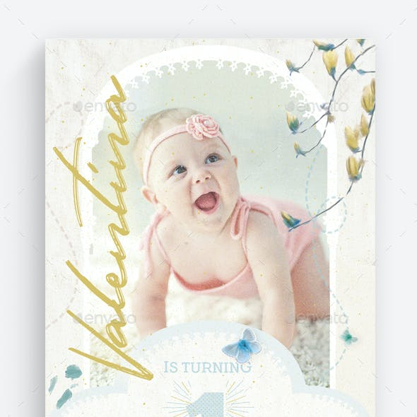 Birthday Invitation Vol.2 Flyer Template