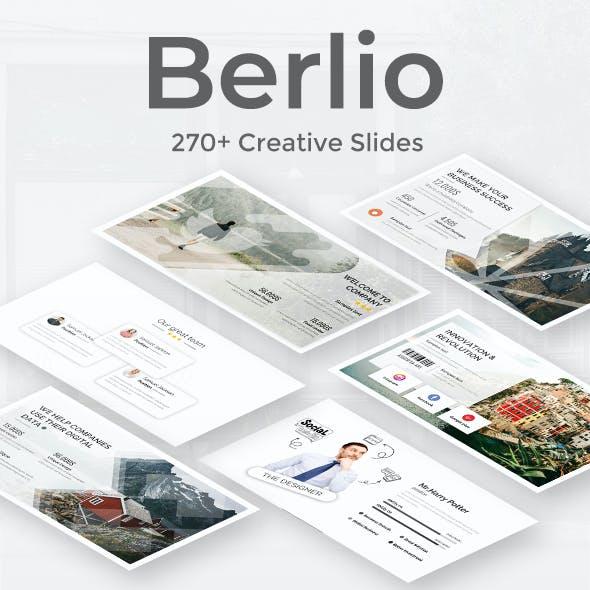 Berlio Premium Google Slide Template