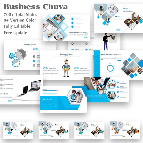 Business Chuva PowerPoint Template