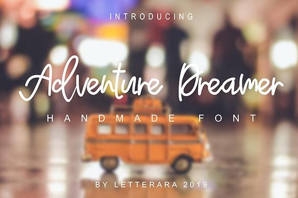 Adventure Dreamer - Hand-writing Script