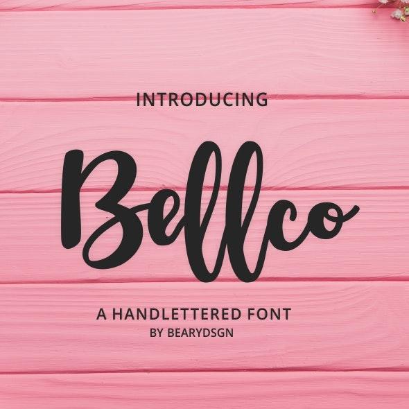 Bellco - Hand-writing Script