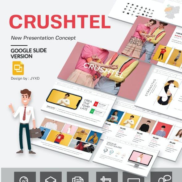 Crushtel Google Slide Presentation Template