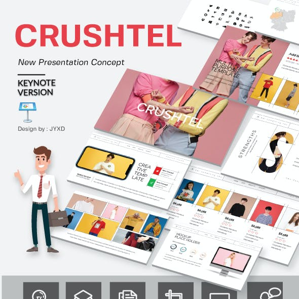 Crushtel Keynote Presentation Template