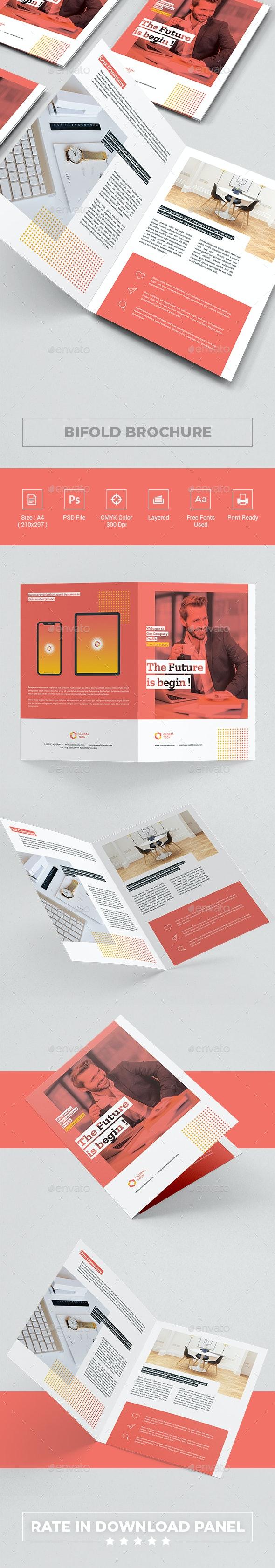 Company Bi-fold Brochure - Corporate Brochures