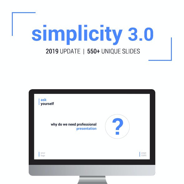 Simplicity 3.0 – Premium and Easy to Edit Template