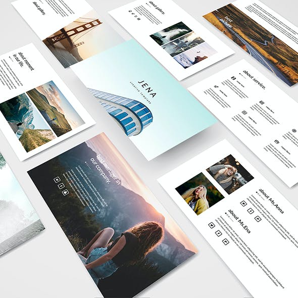 Jena - Creative Powerpoint Template
