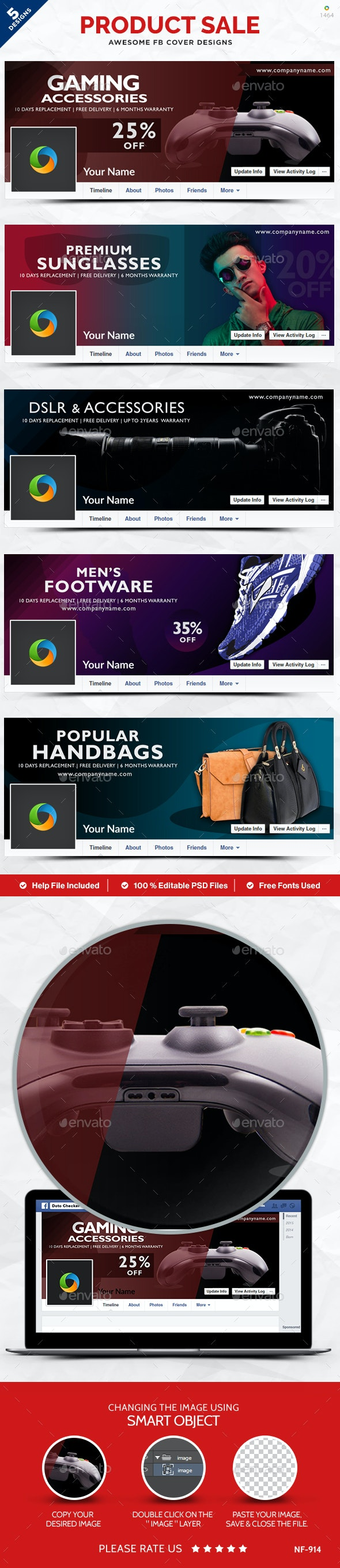 Banner Set - Banners & Ads Web Elements