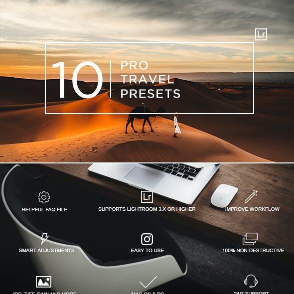 10 Pro Travel Presets by zvolia