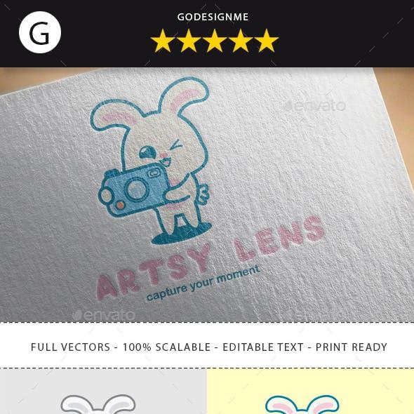 Artsy Lens Logo Design