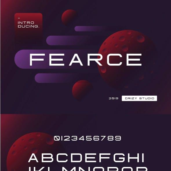 Fearce Font
