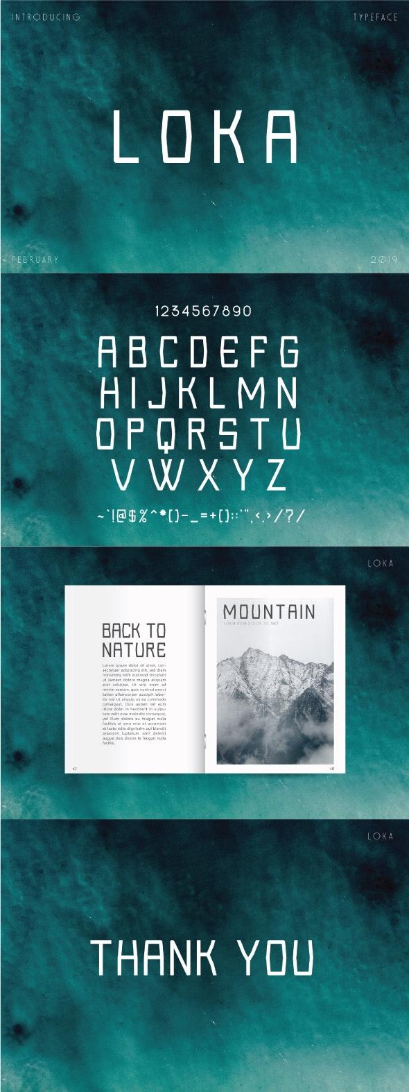 Loka Font San Serif - Fonts