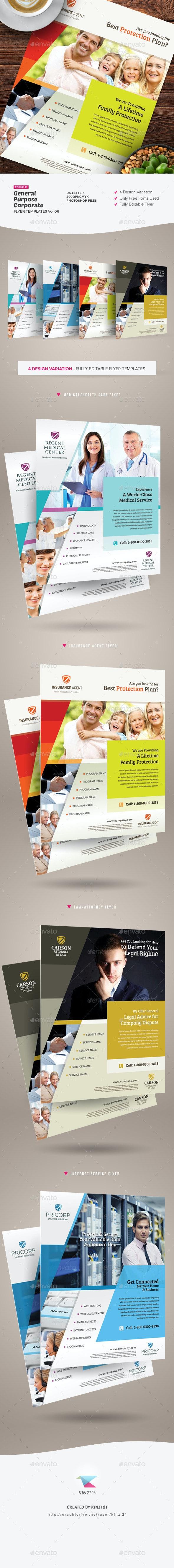 General Purpose Corporate Flyer Vol.06 - Corporate Flyers