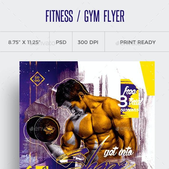 Fitness Flyer / Gym Flyer Vol 10