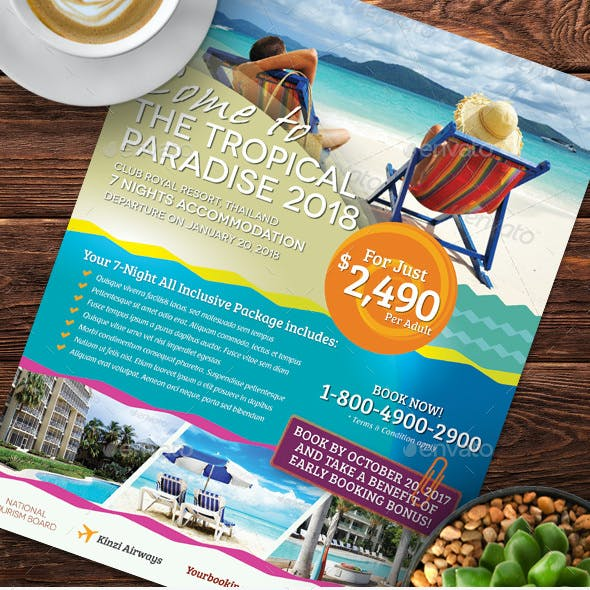 Holiday Travel Flyer Vol.02