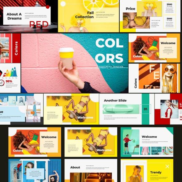 Colors Google Slide Template