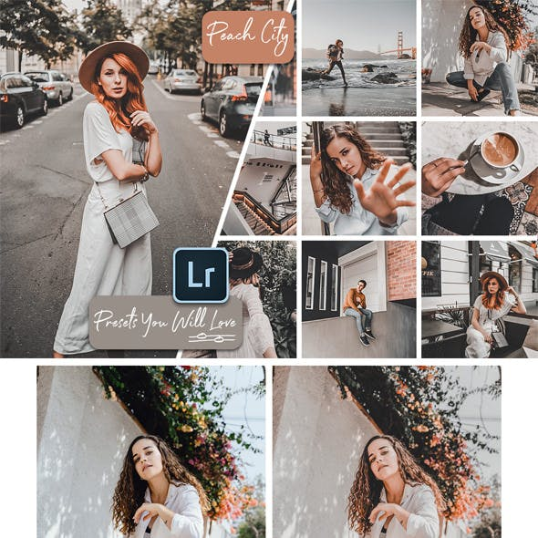 Peach City Lightroom Mobile and Desktop Presets