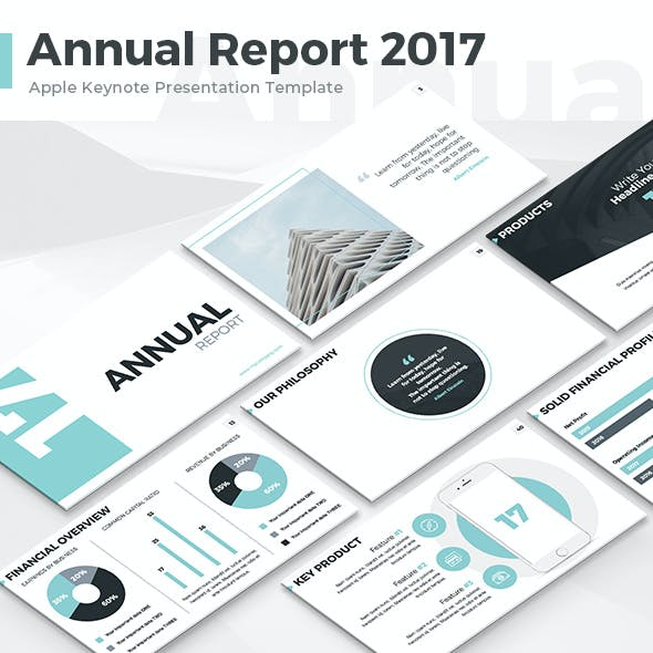 Annual Report 2017 - Keynote Template