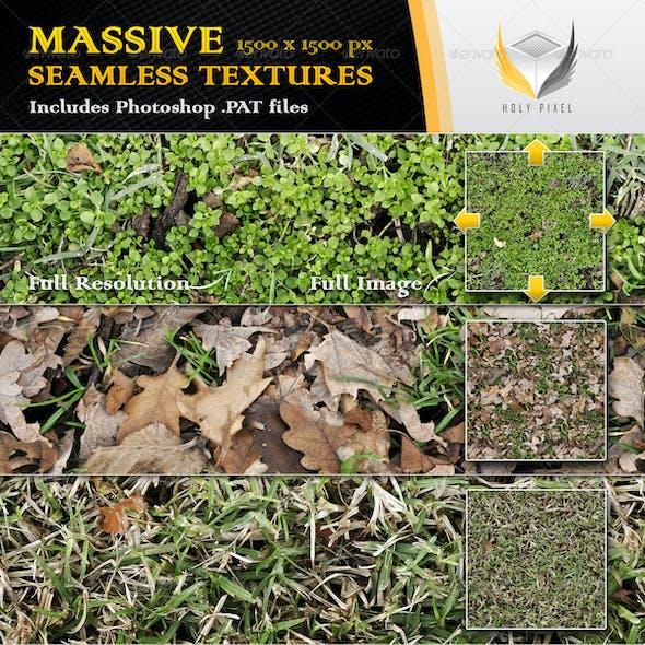 10 Seamless Grass Textures 2