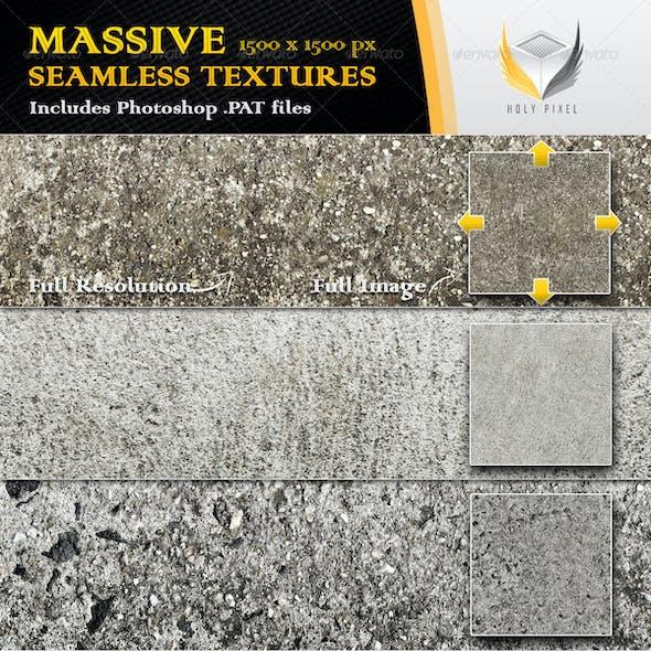 6 Seamless Concrete Textures