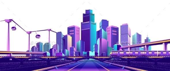 Road To the Big City - Miscellaneous Vectors
