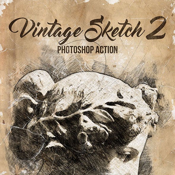 Vintage Sketch 2 Photoshop Action