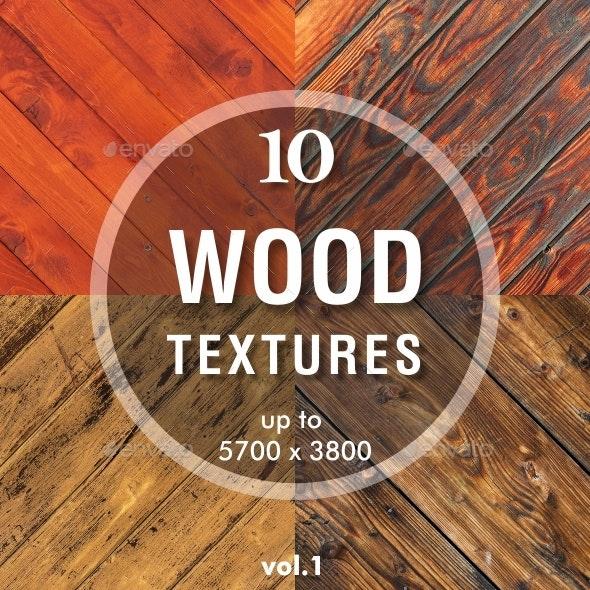 10 Wood Backgrounds / Textures - Wood Textures