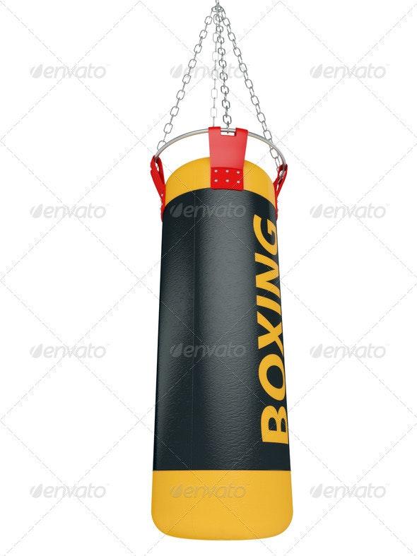 Boxing bag - 3D Backgrounds