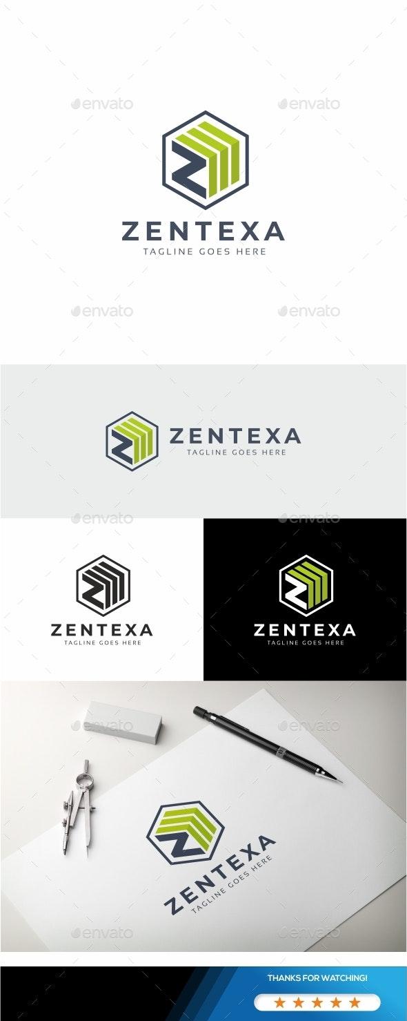 Zentexa - Z Letter Logo - Letters Logo Templates