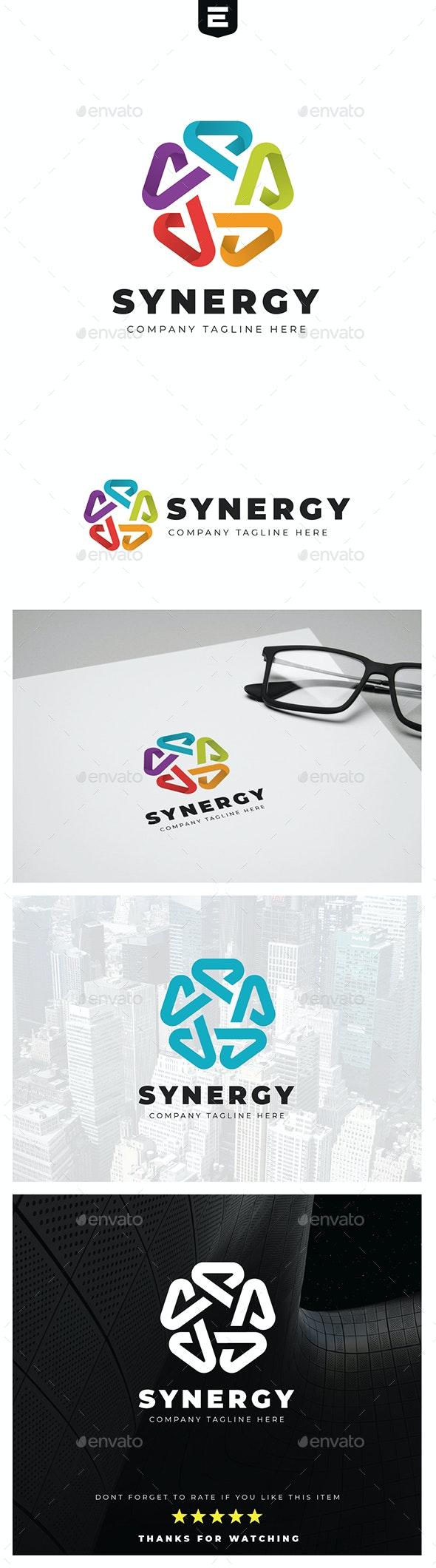 Penta Synergy Logo - Abstract Logo Templates