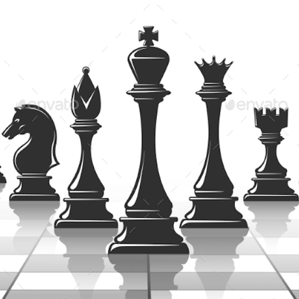 Chess Strategy Concept