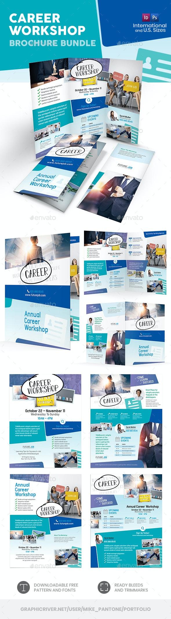 Career Workshop Print Bundle - Informational Brochures