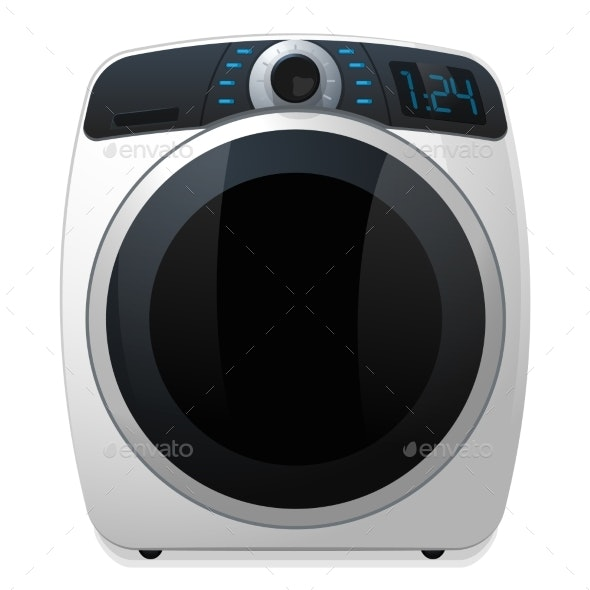 Washer Machine Icon - Man-made Objects Objects