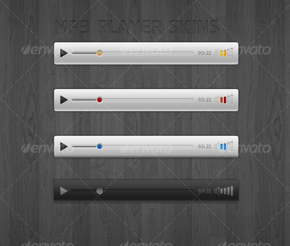 MP3 PLAYER SKINS - Miscellaneous Graphics