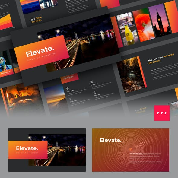 Elevate - Creative PowerPoint Template