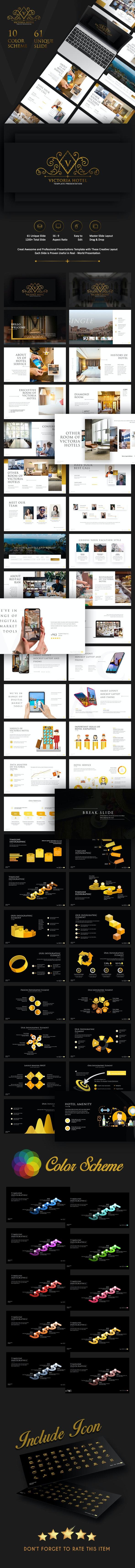 Victoria Hotel Presentation Template - PowerPoint Templates Presentation Templates
