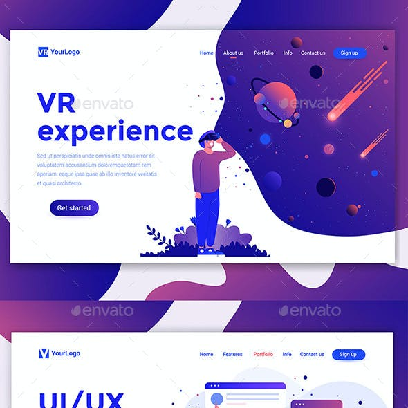 Landing Page Templates Collection
