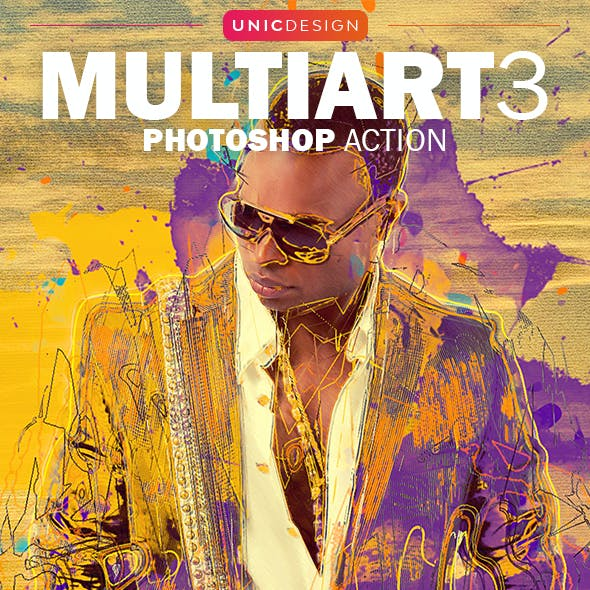 MultiArt 3 Photoshop Action