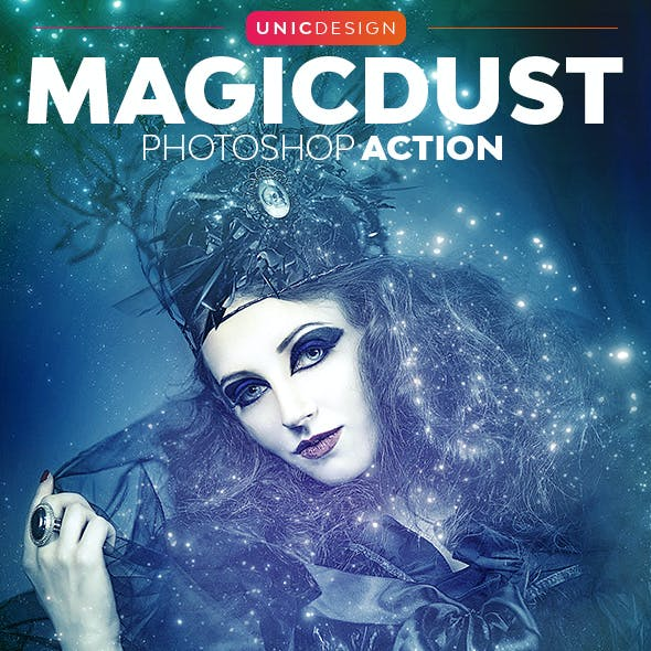 MagicDust Photoshop Action