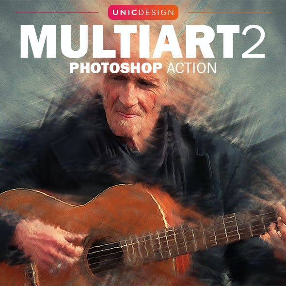 MultiArt 2 Photoshop Action