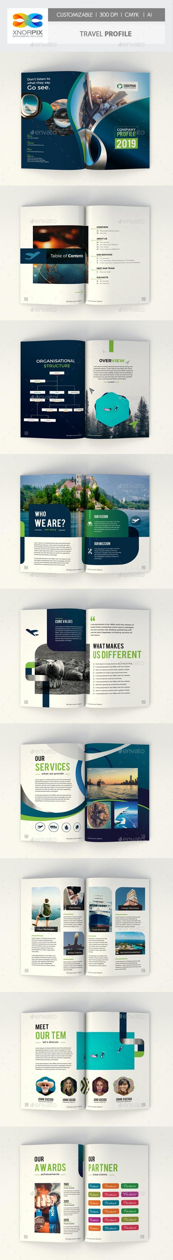 Travel Profile - Corporate Brochures